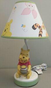 "Disney Winnie The Pooh Vintage Lamp 13"" Tested"