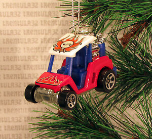image is loading golf cart hot rod dragster red white amp - Golf Cart Christmas Decorations