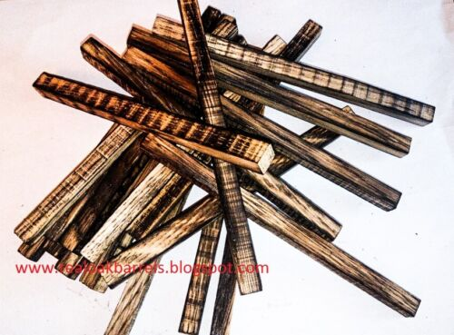 12x Oak Sticks for Aging Whiskey,Oak Chunks,Medium Toast
