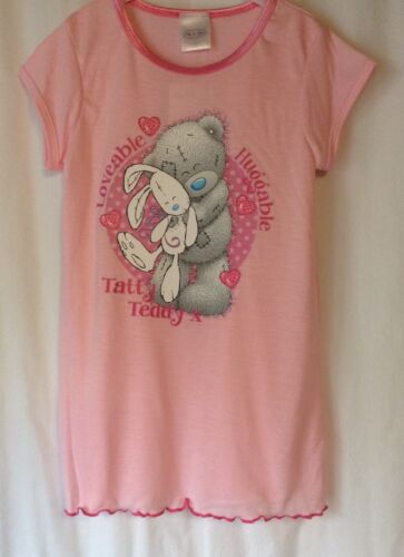 NEW GIRLS AGES 2-8 YEARS FROZEN PRINCESS TATTY TEDDY NIGHTIE DISNEY NIGHTWEAR
