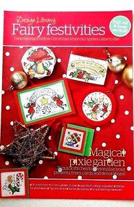 B-Christmas-cross-stitch-chart-Fairy-Festivities-35-charts-from-magazine