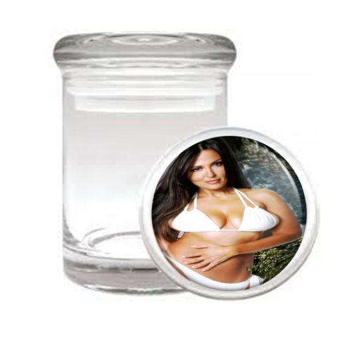 Italian Pin Up Girls D1 ODORLESS AIR TIGHT MEDICAL GLASS JAR CONTAINER