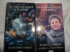 Details About Vhs Tape Wonderworks The Chronicles Of Narnia Prince Caspian Voyage Silver Chair