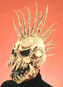 Deluxe Adult Skull The Fin Zombie Full Costume Classic Horror Mask - Fast Ship -