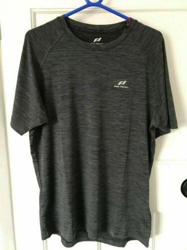 PRO TOUCH rylu UX Sec Plus Eco Homme Gris T Shirt Tailles M-XL Gym Fitness Run