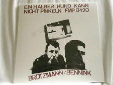 PETER BROTZMANN & HAN BENNINK Ein Halber Hund Kann Nicht 180 gram SEALED LP