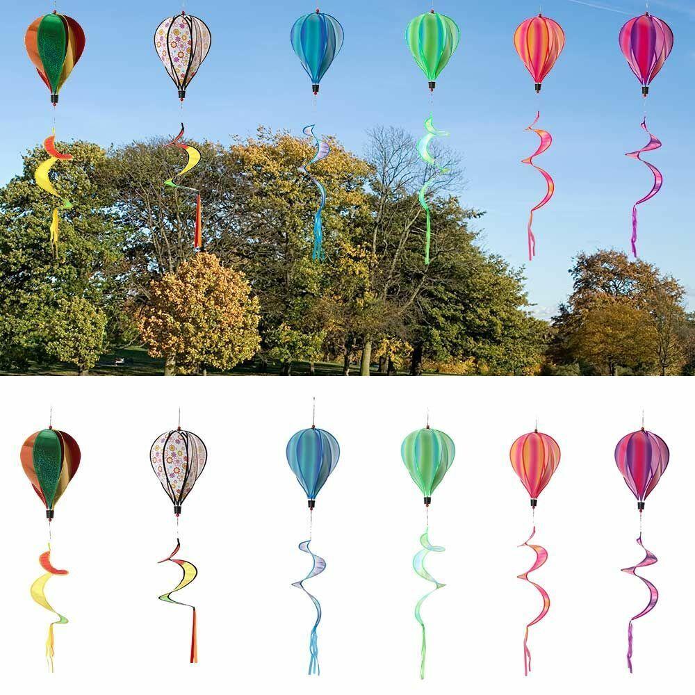 Windmills Outdoor Whirlygig Toys Hot Air Balloon Pinwheels Wind Spinners