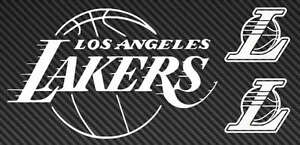 NBA LOS ANGELES LAKERS Car Wall sticker Decal Sticker Any Size /& Colour