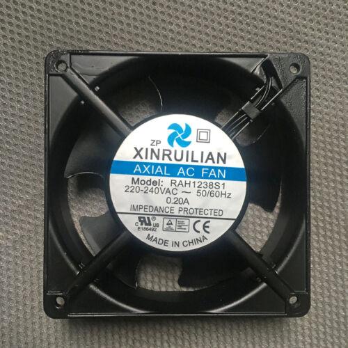 1PCS Xinruilian Ventilador RAH1238S1 220-240V AC 0.20A 12038 12CM