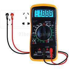 EXCEL Digital Multimeter XL830L Volt Meter Ammeter Ohmmeter Tester Yellow UK Top