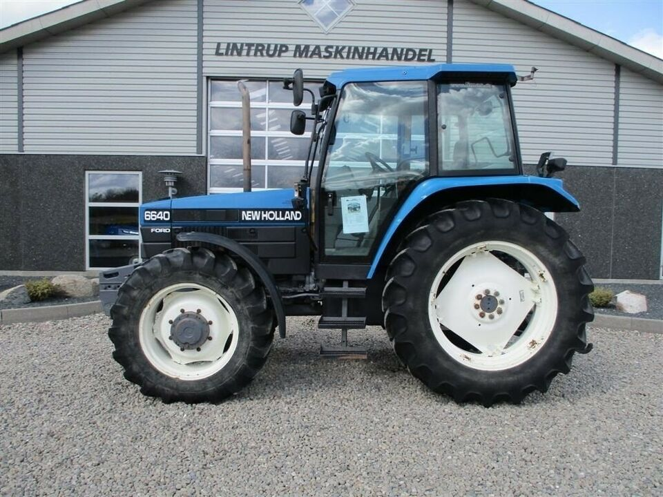 New Holland, 6640 SLE 4 WD, timer 4767