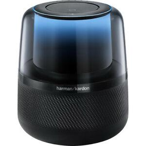 Harman Kardon Allure Voice-Activated Speaker (Black) - HKALLUREBLKAM