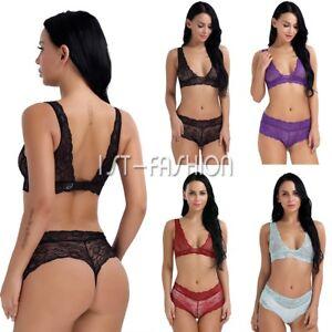 Plus-Size-Womens-Lingerie-Set-Lace-Dress-Babydoll-Underwear-Nightwear-Sleepwear