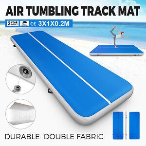 Airtrack-Gymnastique-Tumbling-Gonflable-Tapis-De-Piste-Air-Pour-Exercice-1x3M