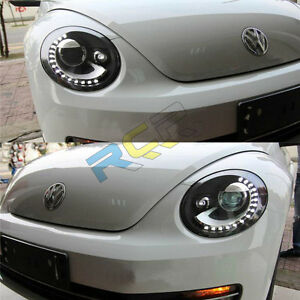 hid headlights    vw beetle front bumper led bi xenon lamps