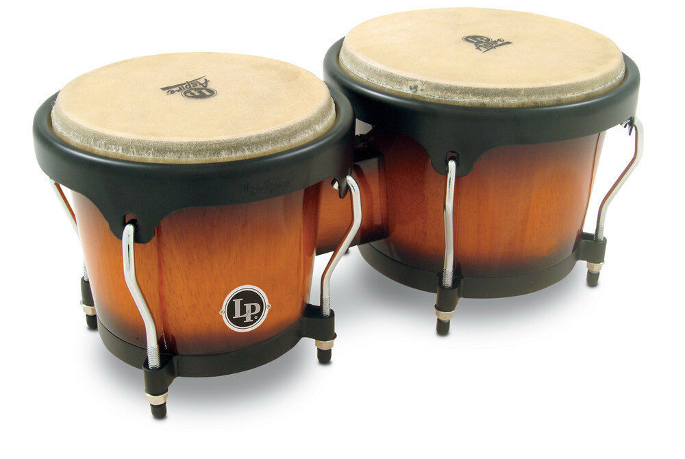 Latin Percussion Bongo Aspire rot Wood Latin Percussion