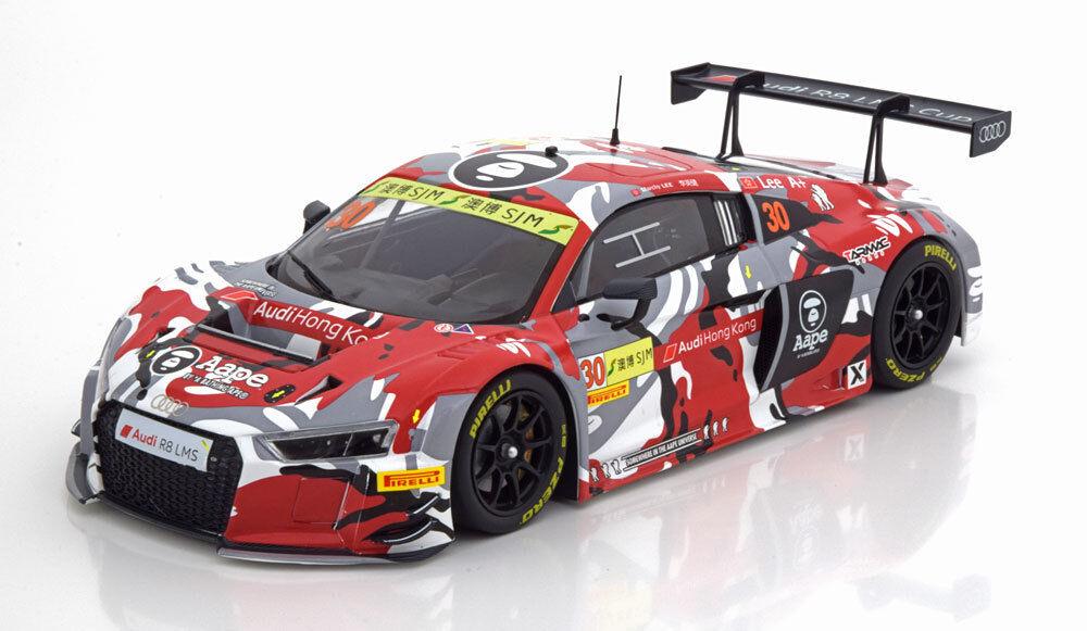 Minichamps AUDI R8 LMS FIA GT Copa del Mundo 2015 Lee  18 escala le de 300 nuevo