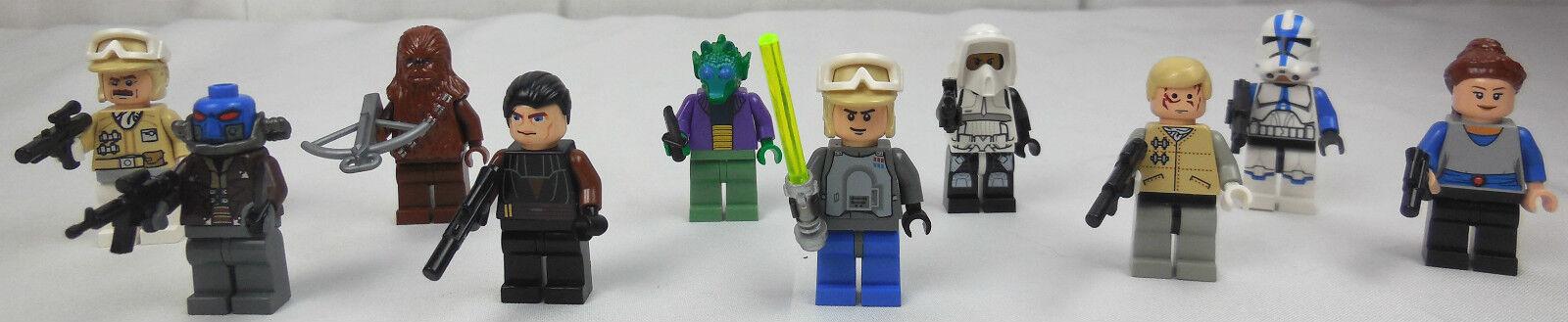 Lego Star Wars Figuren 10 Stück mit Waffen Waffen Waffen Zubehör 73e235