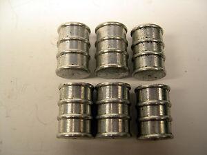 6-Oil-Drums-Barrels-for-American-Flyer-Oil-Drum-Loader