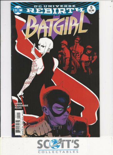 BATGIRL  #5  NEW BAGGED /& BOARDED FREEPOST