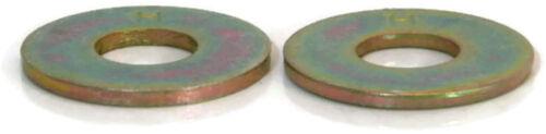 """Flat Washers Extra Thick Grade 8 Yellow Zinc 7//16/"""" Qty-25"""