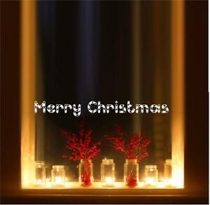 Merry Christmas Candy Cane Vinyl Wall Decal Sticker Home Décor Family Ebay
