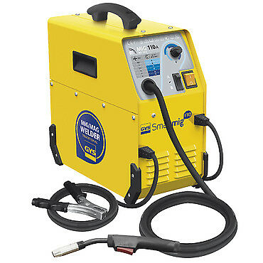 Saldatrice mono fase NO GAS SMARTMIG 110 A lamiere o profili acciaio