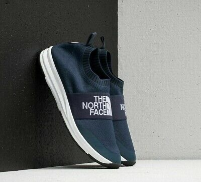 76ff501c6 The North Face NSE Traction Knit Moc Shoes Urban Navy/TNF White BRAND NEW!  | eBay