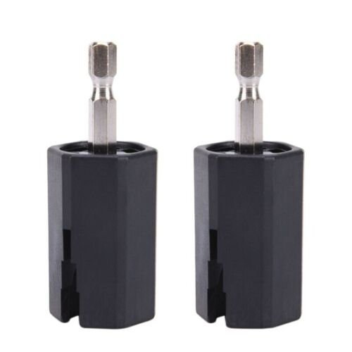 2Pcs String Winder Tuning Peg Puller Replace Electric Drill for Guitar Bas E7N5