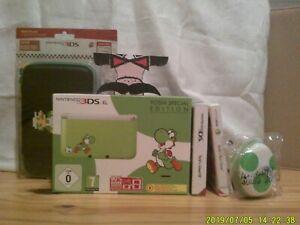 Lot Yoshi (Nintendo 3ds XL + jeux + accessoires)