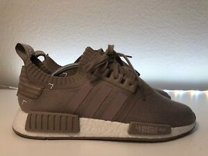 quality design e6401 1a73f Details about Adidas NMD Boost R1 PK Primeknit French Beige White Size  10.5| 100 % Authentic.