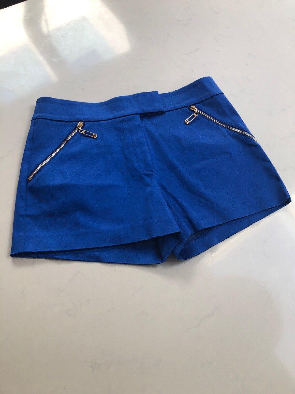 Marciano bluee Silk  Women Shorts  Size 10