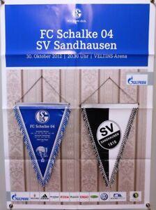 Offizielles-Spielplakat-30-10-2012-BL-FC-Schalke-04-vs-SV-Sandhausen-9