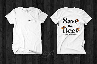 8b3514d00116 Golf Wang Vince Staples and Tyler, the Creator Save The Bees Flower Boy  Tshirt | eBay