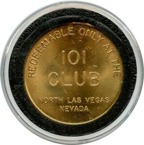 1950-039-s-101-Club-North-Las-Vegas-Nevada-NV-Free-Play-Casino-Token