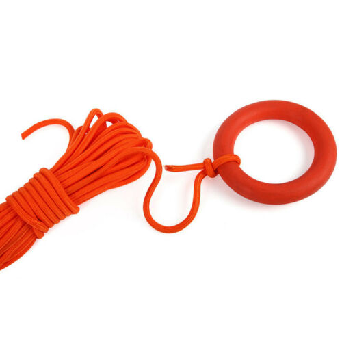 100ft Life Saving Rope Float Line Ring Boating Swimming Water Rescue Equip