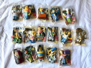 Juego Completo De 16 The Simpsons Movie Burger King Toys 2007 En Embalaje Ebay