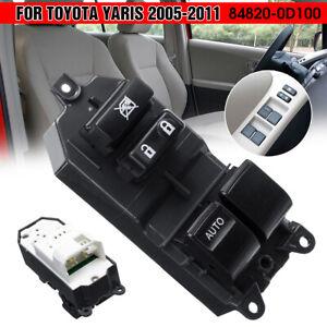Elektrischer Fensterheber Schalter Knopf vorne links für Toyota Yaris