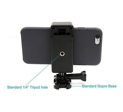 GoPro Style Mount Attachment for Phones. Connect Your ...