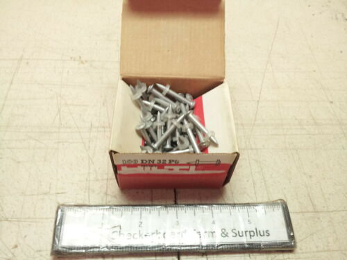 100 NOS Hilti Anchor Stud Concrete Fastener DN 32 P8 44178//2 Qty