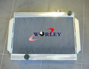 3-CORE-56mm-ALLOY-ALUMINUM-RADIATOR-FOR-holden-Torona-V8-universal-Manual-MT
