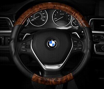 "M 15.5/"" Steering Wheel Cover Black Red Race Sport New Racing 14.5/"""