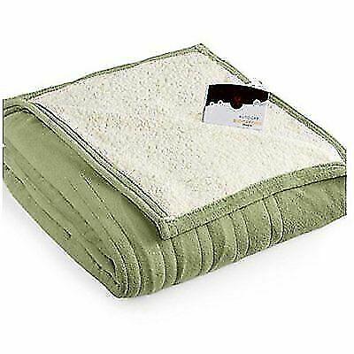 Biddeford Blankets 2060-9052140-633 Microplush Electric Heat