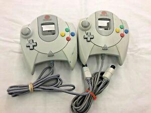 2-Broken-Sega-Dreamcast-Controllers-HKT-7700-Does-not-turn-on