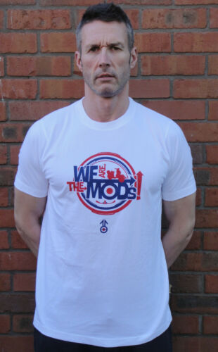 MODS  T SHIRT BY STOMP SCOOTER 60'S MOD NORTHERN SOUL RETRO WHO JAM MODS