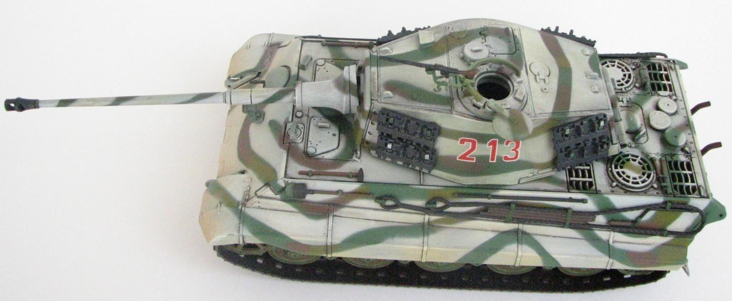 HOBBY MASTER TANK 1 48 King Tiger sSSPzAbt 501 Battle of Bulge Ardennes 1944 Do.