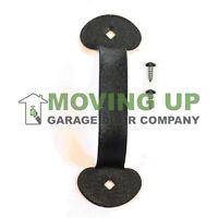 Garage Door Decorative Colonial Lift Handle 7 Black + Hardware