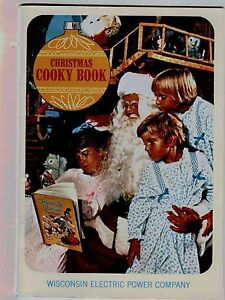 Image Is Loading 1970 Christmas Cookie Cookbook Wisconsin Electric Company Grandma