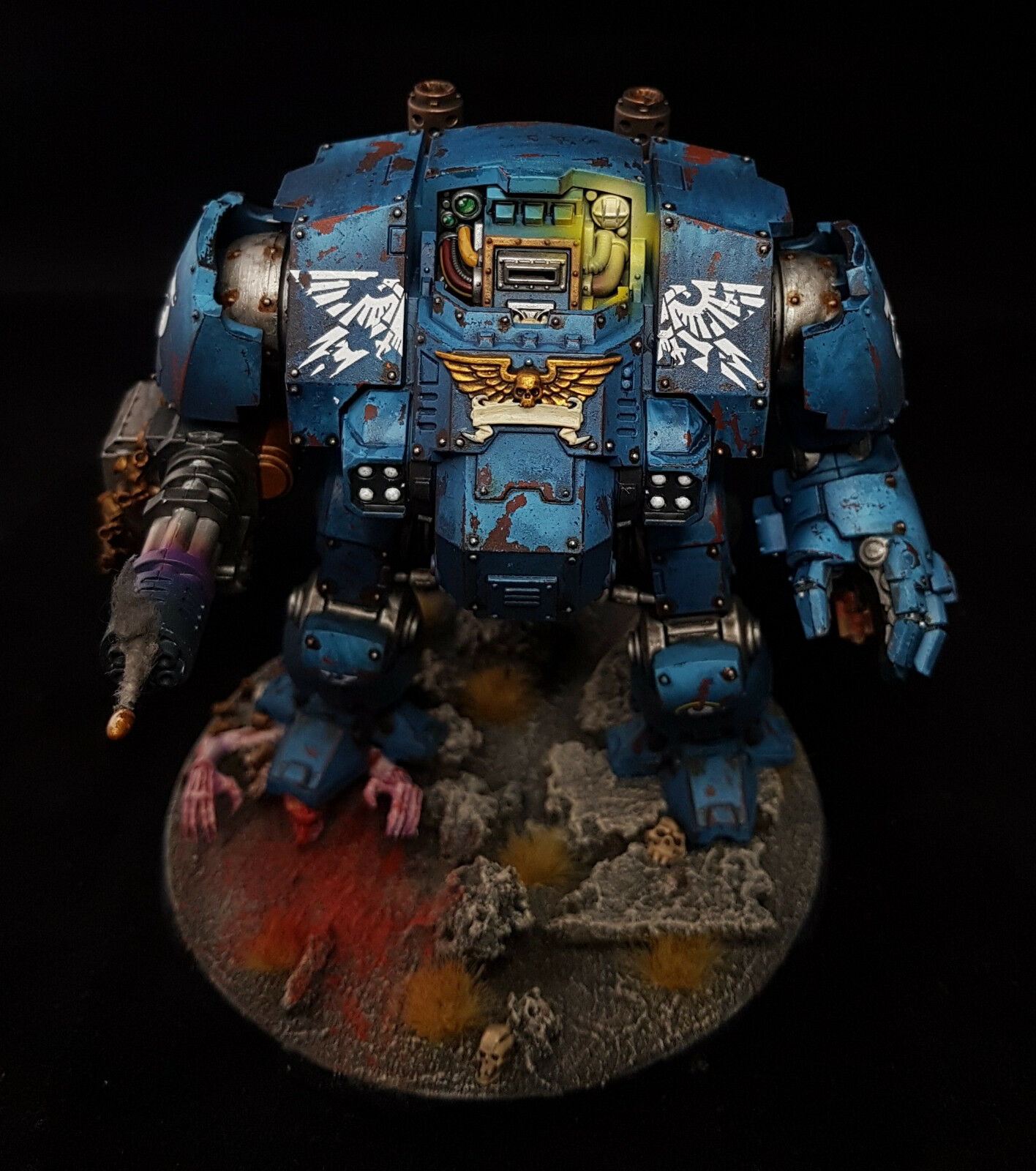 Primaris Redemptor Dreadnought Commission Any Chapter Painted Warhammer 40K