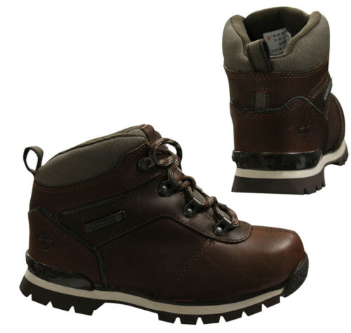 Timberland Splitrock Hiker Youths Junior Lace Up Brown Boots A1i2E D62